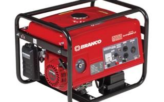 Gerador a gasolina Branco B4T-2500L